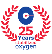 25 years experience with stabilized oxygen